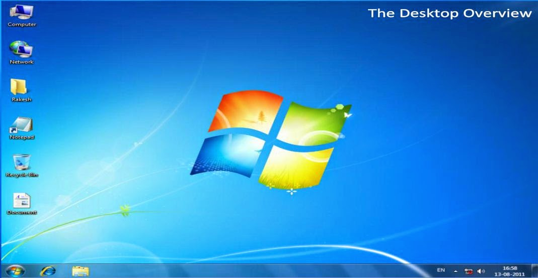 how to create groups of icons on windows 10 desktop