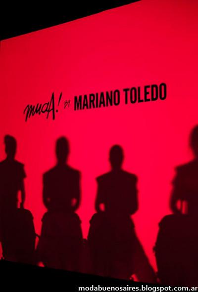 Muaa by Mariano Toledo primavera verano 2013. Back Bafweek.