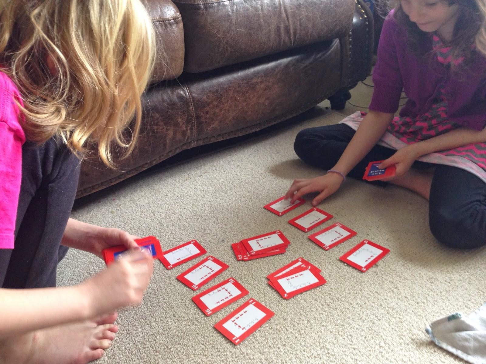 Practice skip-counting with Speed! A great game for the whole family!