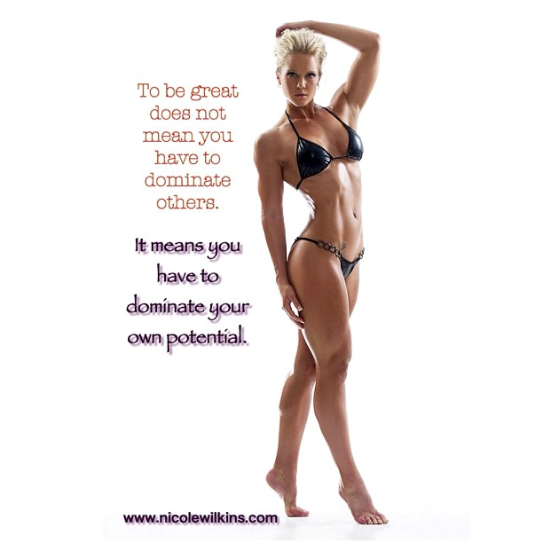 Nicole wilkins inspire fitspiration you can make excuses or you can