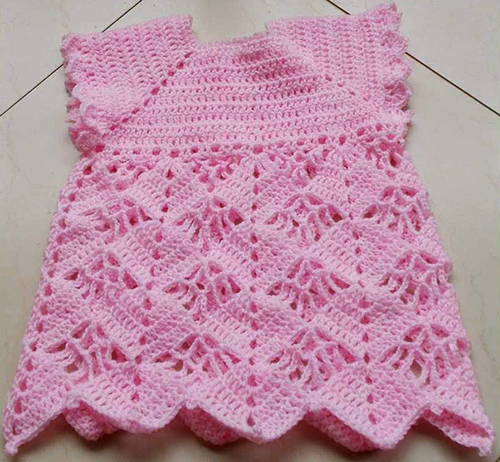 Cute in Pink Baby Dress