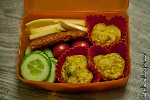 Omlette to Go, Omlette Muffin, Lunchbox, LCHF
