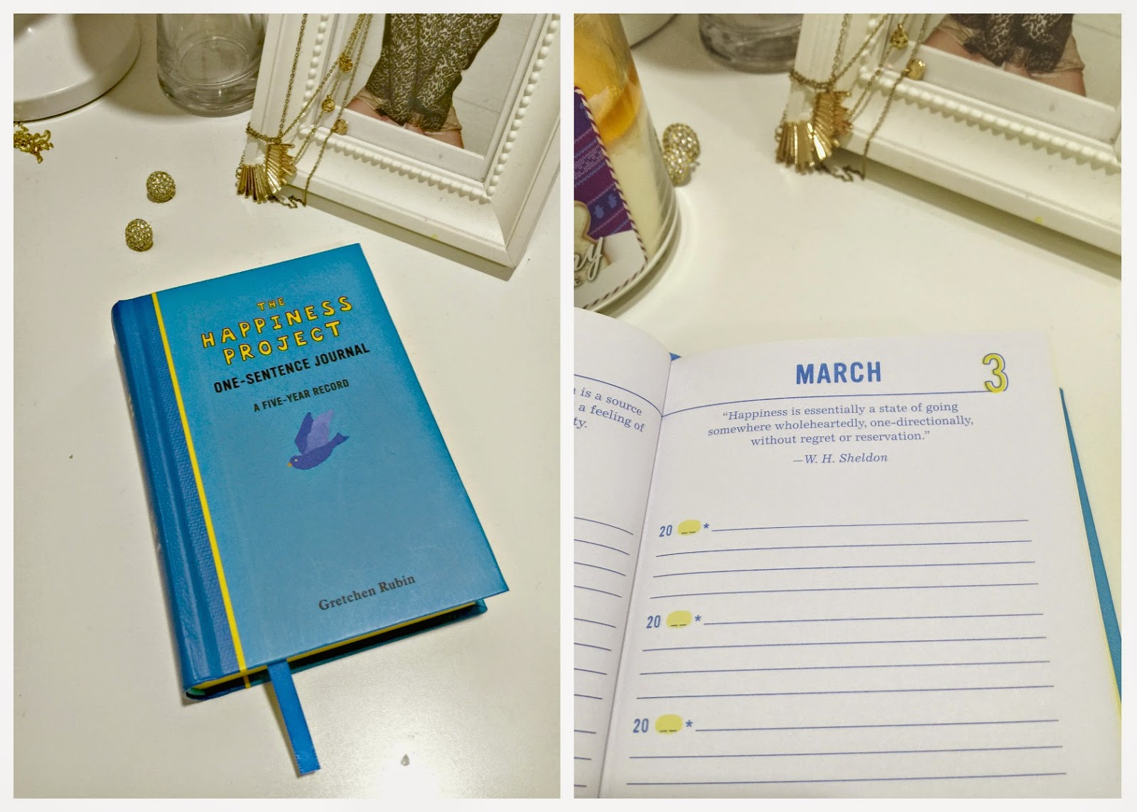 The Happiness Project: One-Sentence Journal