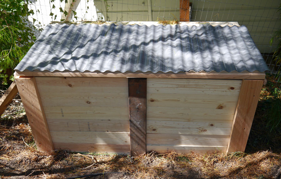 the uncarved block building a 2 bin composter
