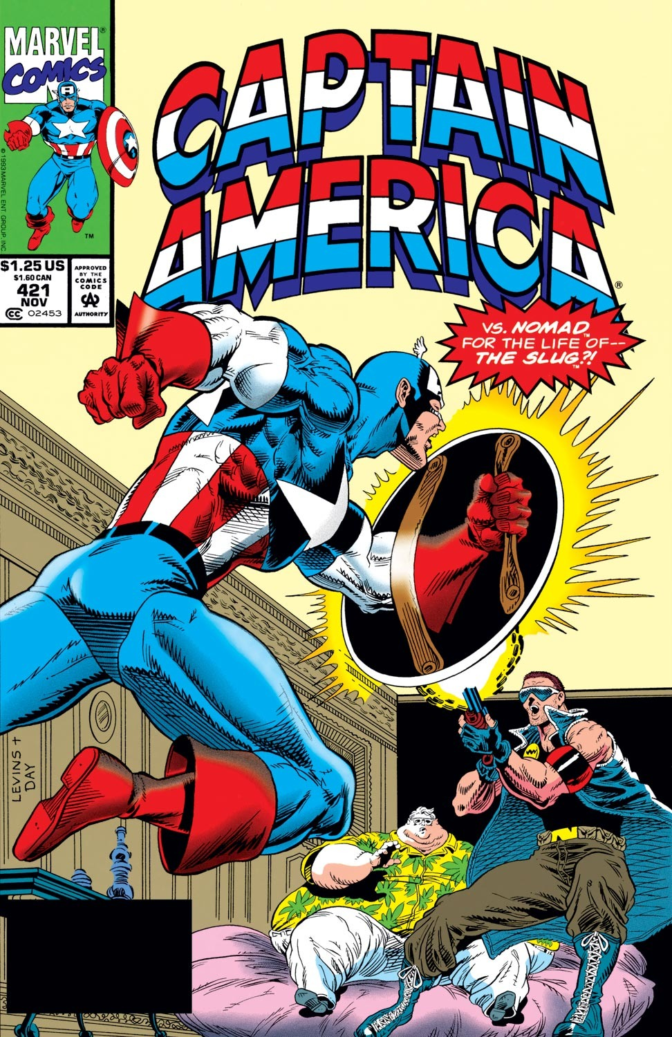 Captain America (1968) Issue #421 #371 - English 1