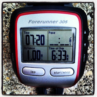 Timed Mile 4-21-13