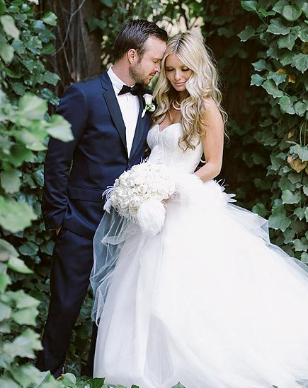 Aaron Paul and Lauren Parsekian summers hottest wedding 2013