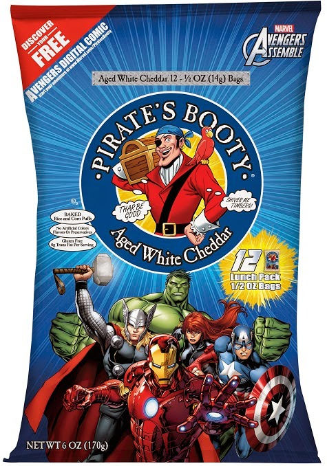 pirates booty marvel avengers 12 pack