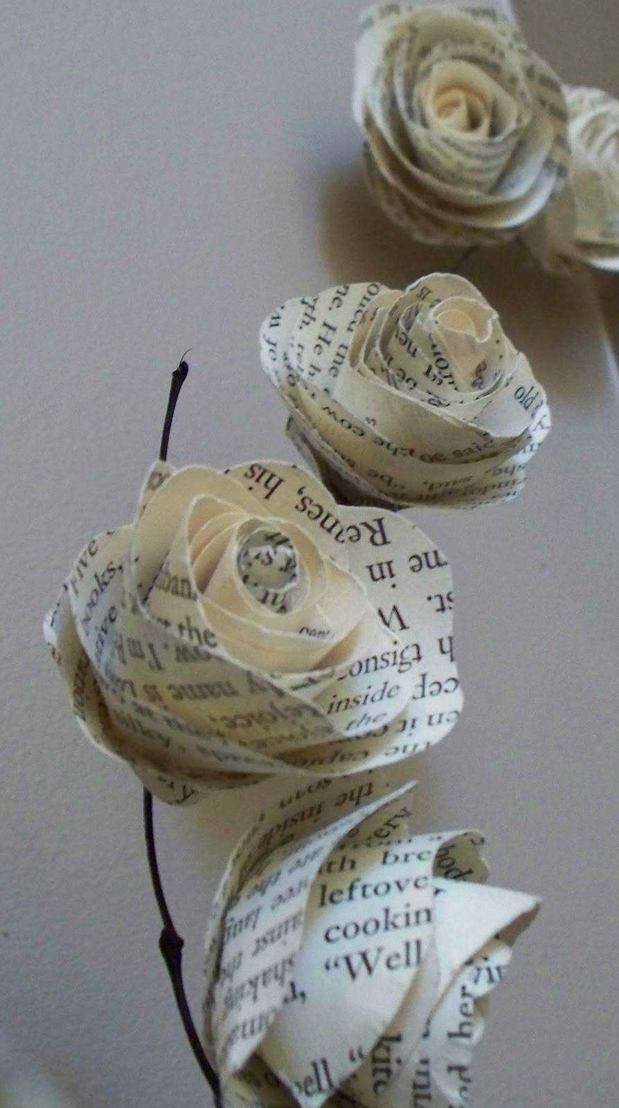 Krista sew inspired vintage paper flower tutorial mightylinksfo