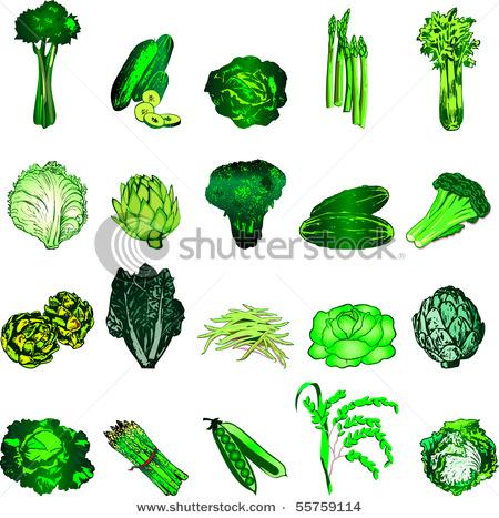 Green Vegetables I hate green vegetables!