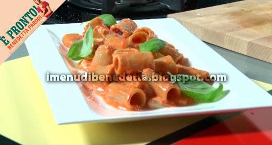 Pasta Integrale con Peperoni e Burrata di Benedetta Parodi