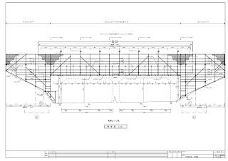単管足場 側面図