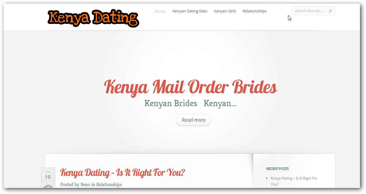 free dating website in kenya