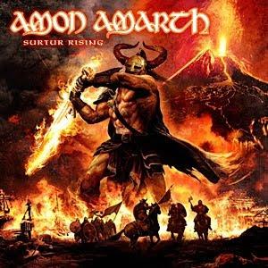 Amon Amarth Surtur Rising 2011