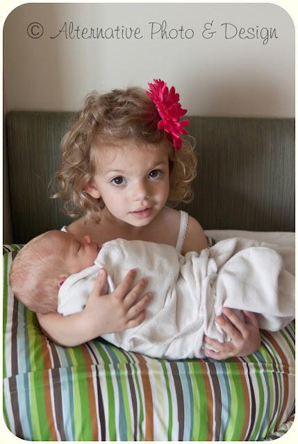 Handsome Bright Eyed Little {T} – Newborn Photography – Janesville, WI