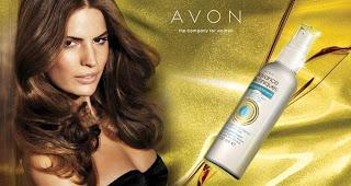 Spray Olio Argan Capelli Avon