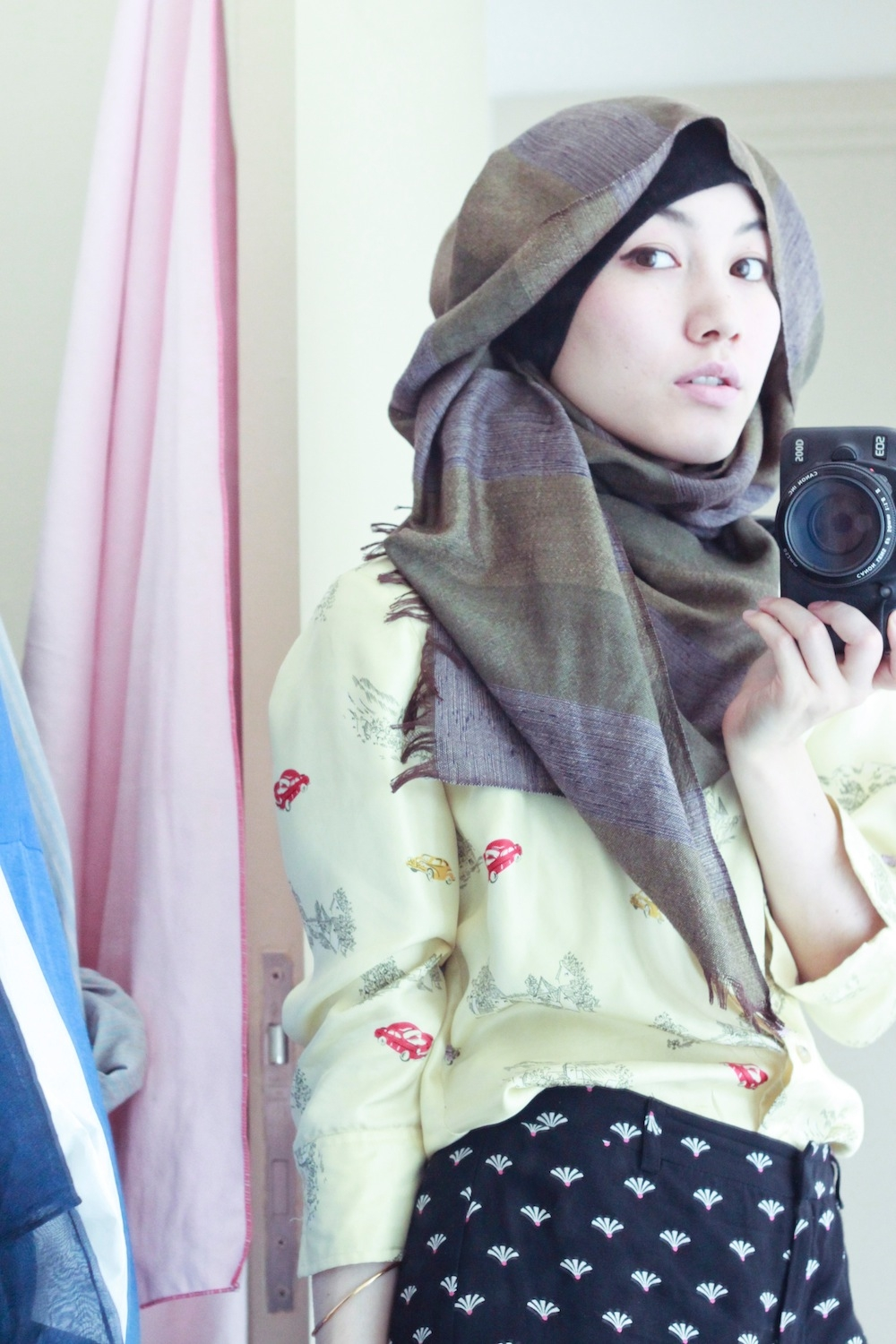 Tutorial Hijab Segi Empat Hana Tajima Blog Video Tutorial