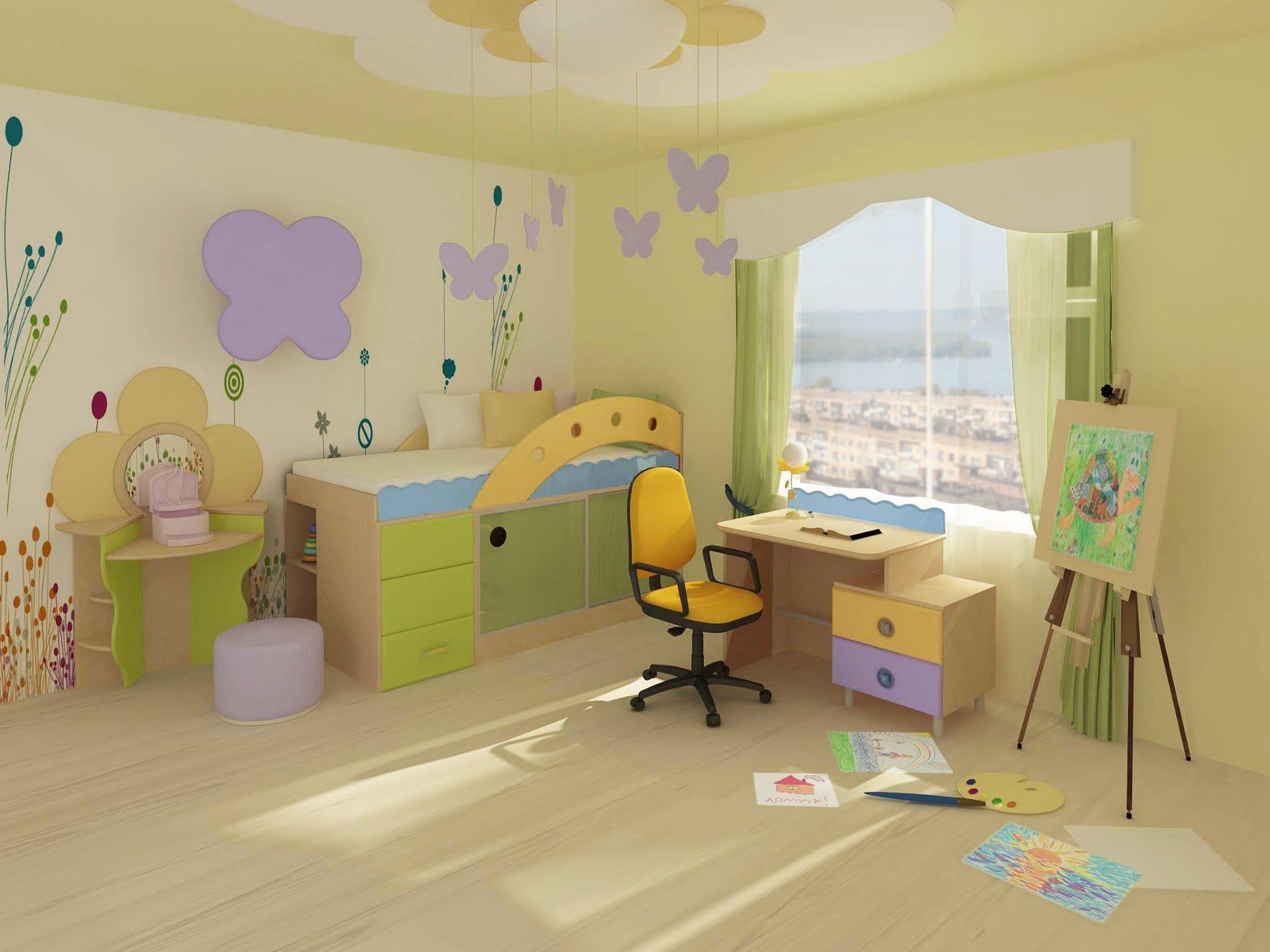 Детская комната  № 3567433  скачать