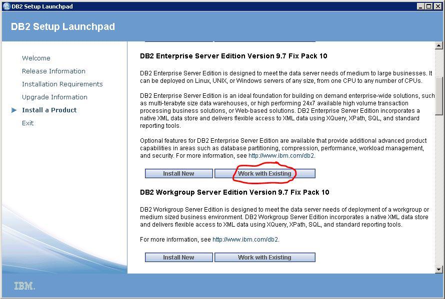 ibm db2 fixpack