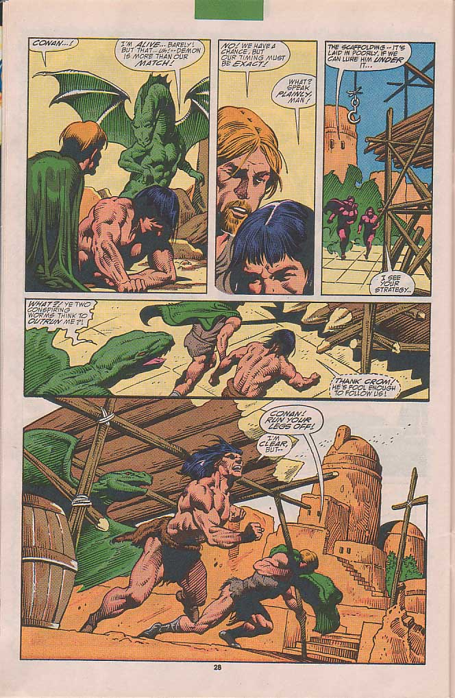 Conan the Barbarian (1970) Issue #251 #263 - English 21