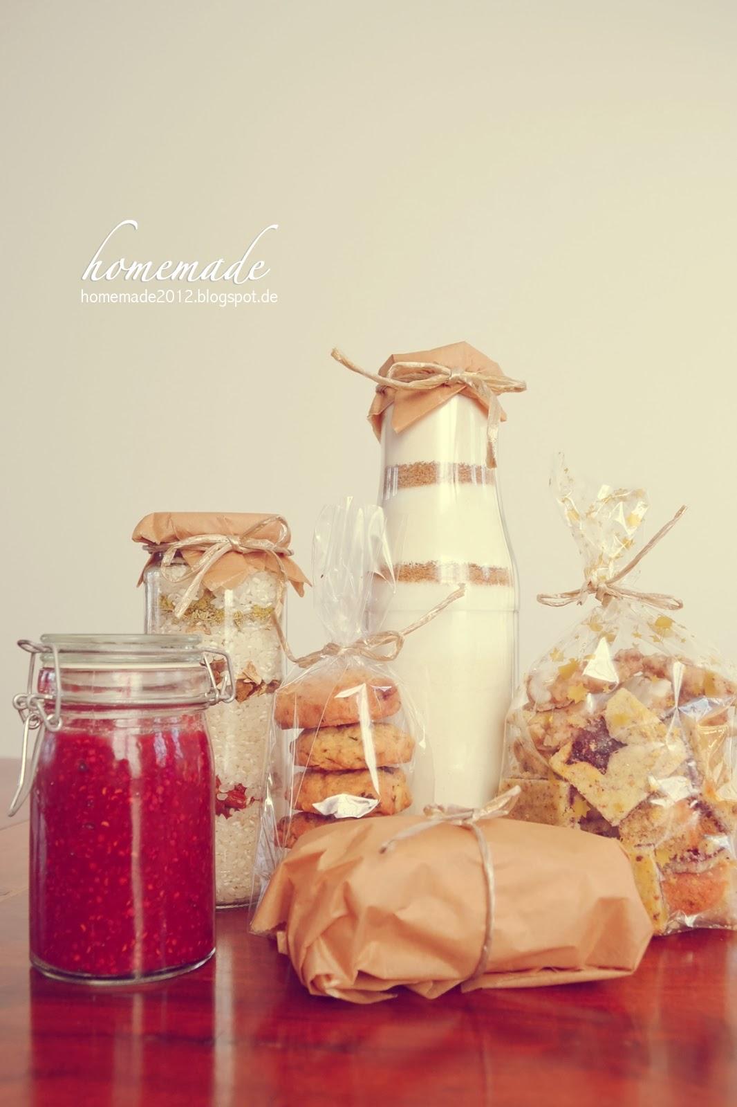 ♥ homemade ♥: Geschenke aus meiner Küche Part 2