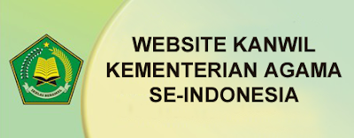 Website Kanwil Kemenag se-Indonesia