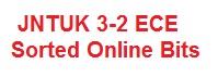 JNTUK 3-2 2nd Mid (R10) ECE Online Bits