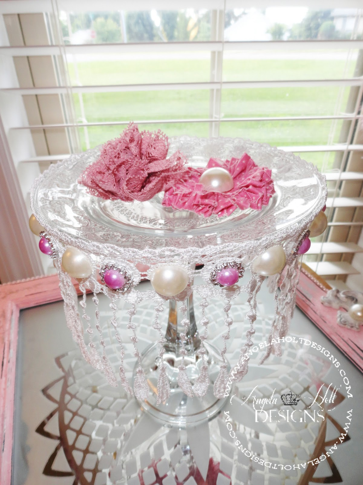 Angela Holt Designs Simple Shabby Chic Style Project featuring