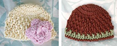 Alli Crafts: Free Pattern: Deeply Textured Hat - Newborn