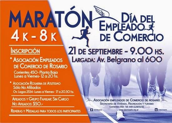 """""""Maratón 8K Empleados de Comercio"""""""