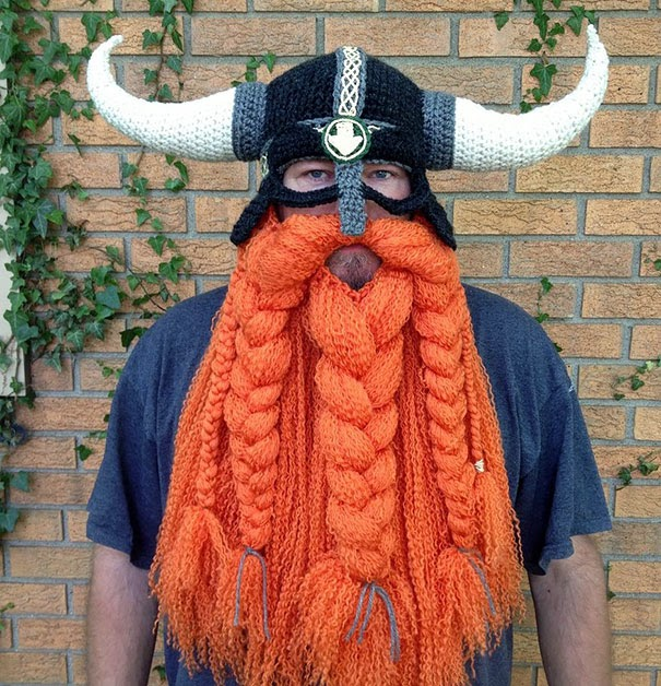 Crochet Viking Hat With Beard : Cool Winter Hats That Will Keep You Warm Creative Ideas