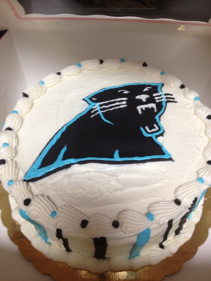 panthers cake ideas
