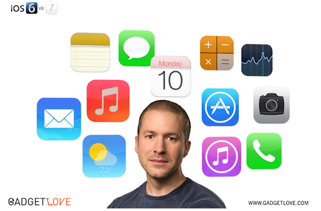 Scott Forstall to Jony Ive animation