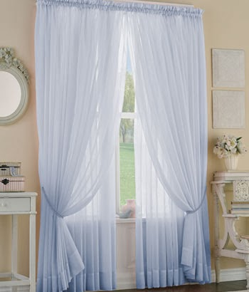 Cherry berry enjoy privacy and protection with semi for Sheer drapes privacy