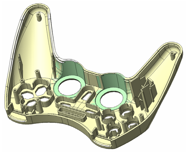 or CAD / CAM geometry conversions required by traditional systems