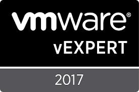 vExpert 2011 - 2017 (vSAN 2017)
