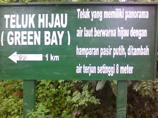 Akses Rute Menuju Teluk Hijau Banywangi