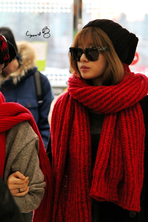 Park Jiyeon T-ARA at Gimpo Airport Photo