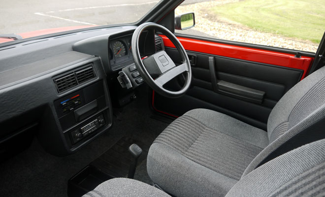 Mk1 Seat Ibiza interior