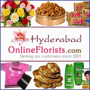 Send Flowers and Gifts to Hyderabad