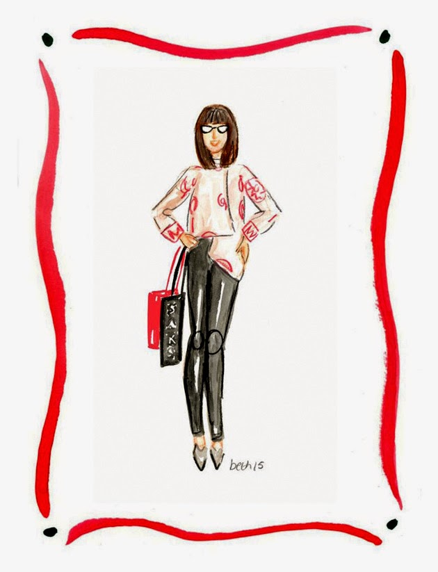 It's Me, From Fashion Illustrator, Beth Briggs
