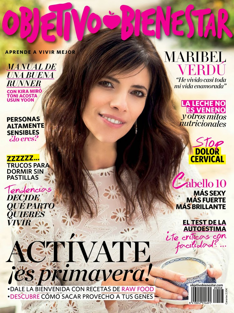 Actress @ Maribel Verdú - Objetivo Bienestar, May 2015