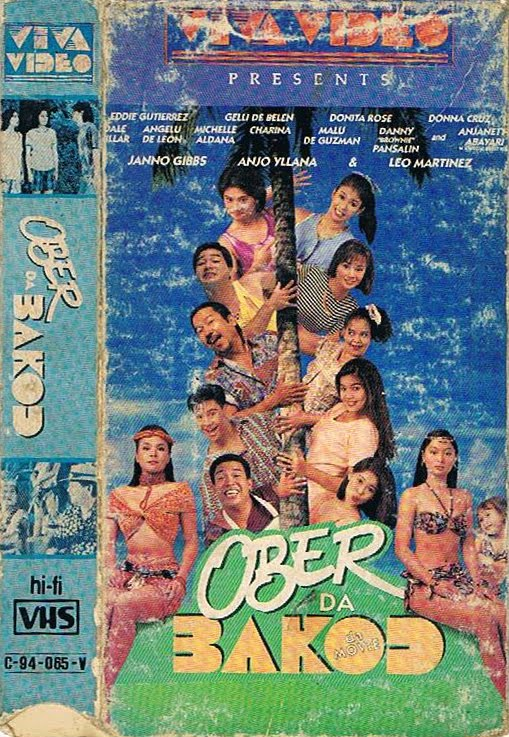 Ober Da Bakod The Movie VHS Cover