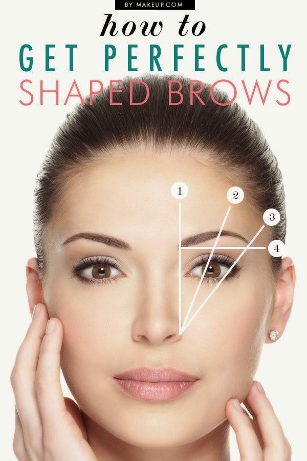 cómo depilar las cejas