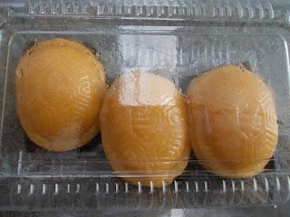 Pumpkin Ang Ku Kueh, S$ 2.00