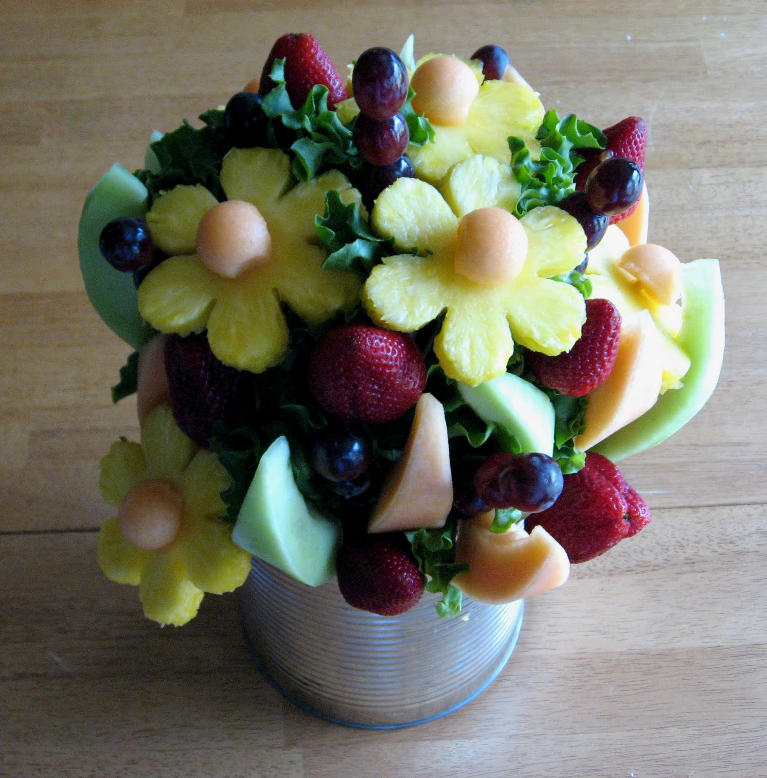 The Beautiful Thrifty Life Diy Edible Arrangement