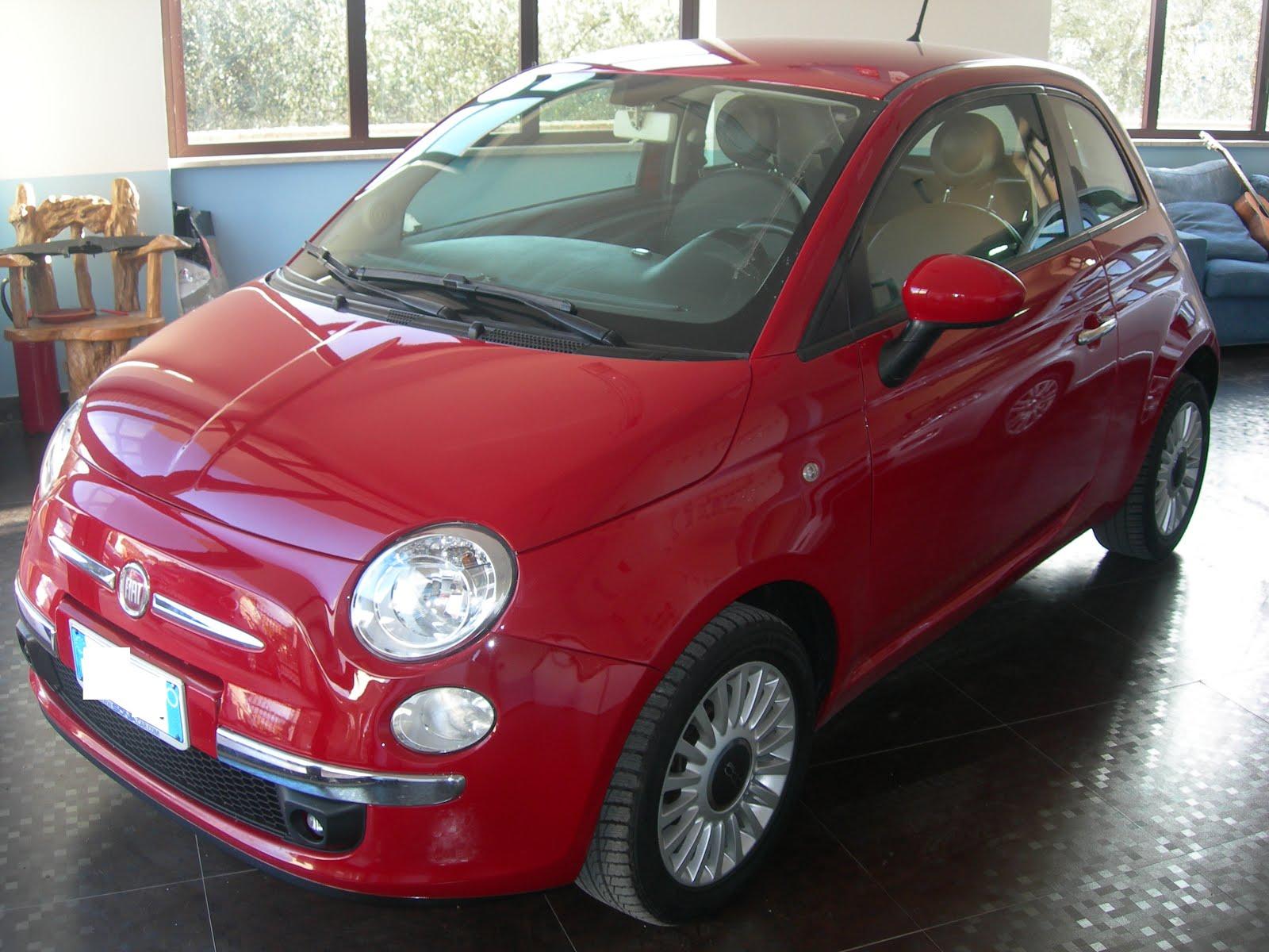 FIAT 500 1.2 70 CV MODELLO POP CON CERCHI IN LEGA-COMANDI AL VOLANTE-PELLE- ECC. ANNO 2014 20.000KM