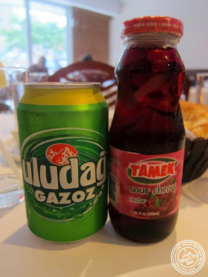 image of Turkish soda at Roka Turkish Cuisine in Kew Gardens, NY