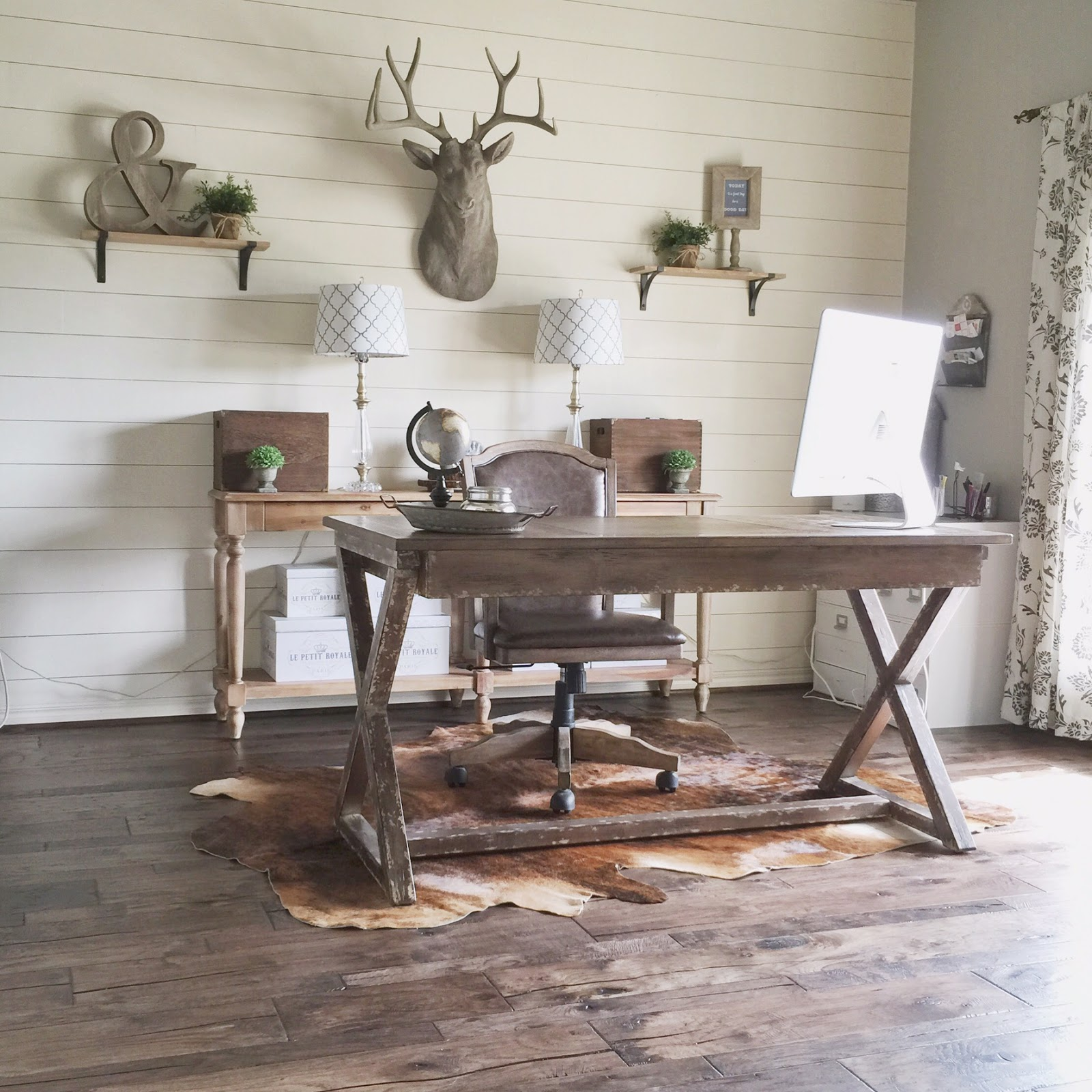 wood floor office. Wood Floor Office. Home Office Makeover (Wood Update) E