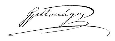 Firma de José Gregorio Monagas